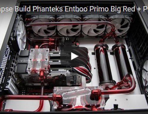Timelapse Build Phanteks Enthoo Primo Big Red